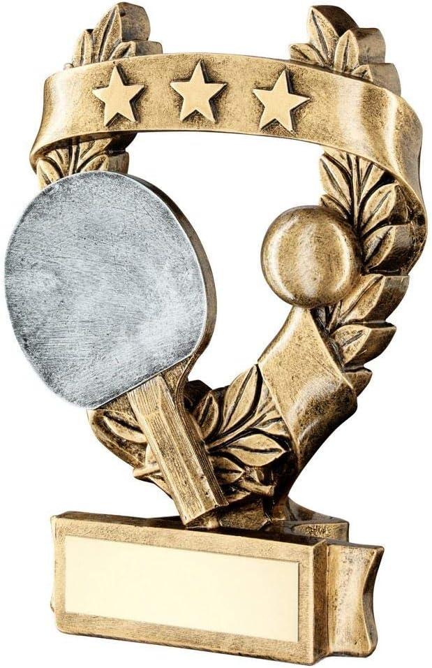 Lapal Dimension - Trofeo de Ping-Pong de 3 Estrellas de 5 Pulgadas