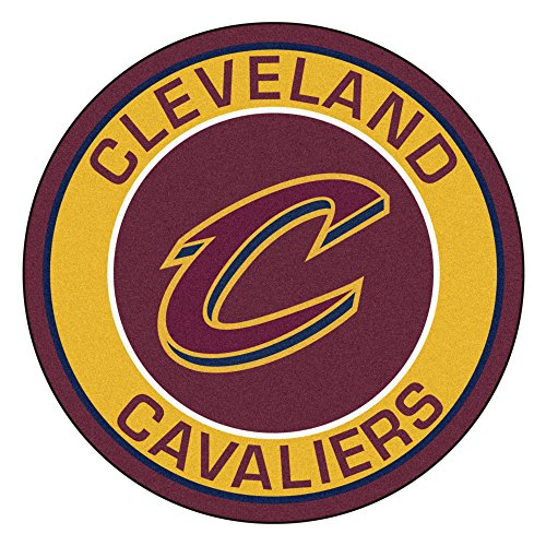 Fanmats 18831NBA Cleveland Cavaliers alfombrilla de Roundel