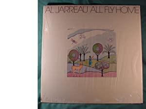 Al Jarreau Sale Price For Quick Sale Near Mint Stereo Lp & Printed Lyric Inner Sleeve - All Fly Home - Warner Brothers 1978