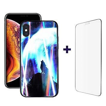 coque iphone xs max lumineuse