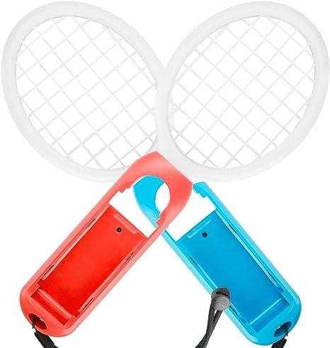 Raqueta de Tenis para Nintendo Switch Pack de 2 Raquetas de Tenis ...