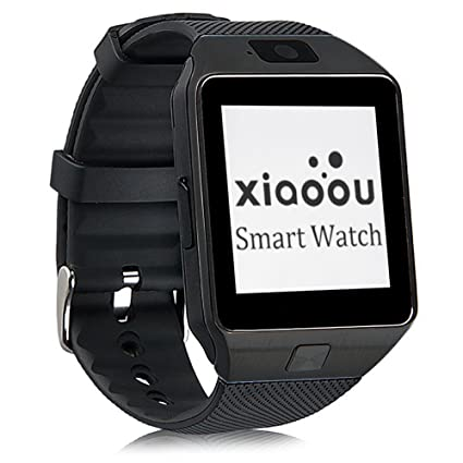 Amazon.com: xiaoou SmartWatch DZ09 Bluetooth con soporte de ...