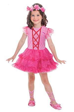 7bd7fb624 Childrens Ballerina Dress Up Outfit World Book Day Week Costume - 3-6 Years