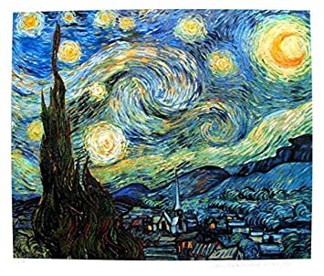 amazon com art by vincent van gogh starry night estate signed