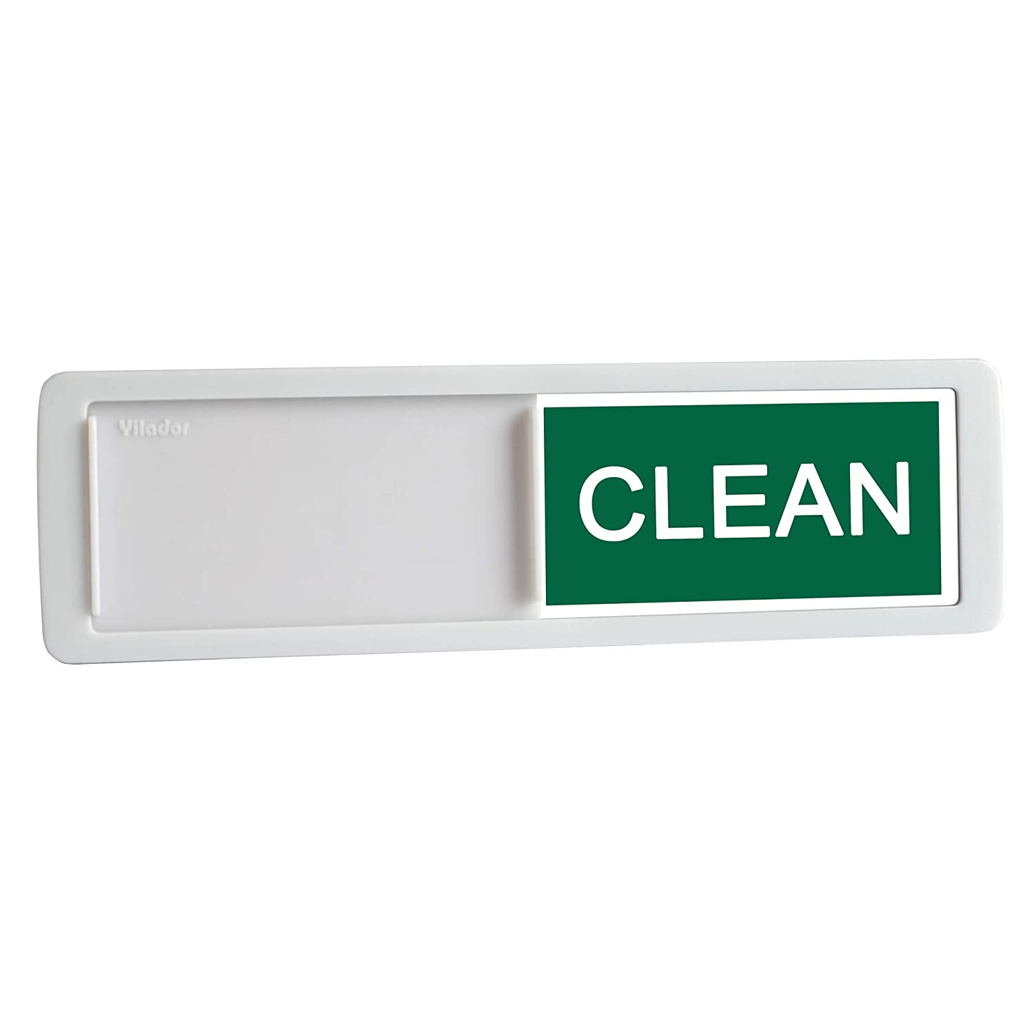 Nano Shield Dishwasher Magnet Clean Dirty Sign, New Design Decorative Dishwasheer Indicator Slide Reminder with Sticky Tab Adhesion, Slide Signs Cool Kitchen Gadgets - White