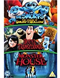 Hotel Transylvania/Monster House/The Smurfs: The Legend Of... [DVD]