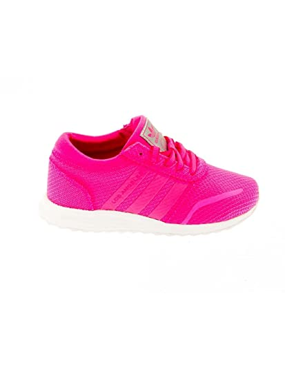 b898b669368 adidas Girls Originals Children Girls Los Angeles Trainers in Pink - UK 1