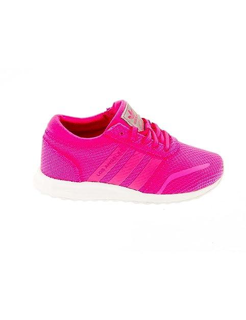 Zapatilla ADIDAS S80234 LOS Angeles Rosa: Amazon.es: Zapatos y complementos