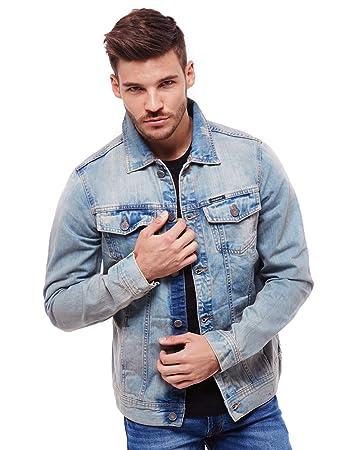 Shop für authentische Vereinigte Staaten exzellente Qualität Pull & Bear Herren Jeansjacke, verwaschener Look, GR. S-XL ...