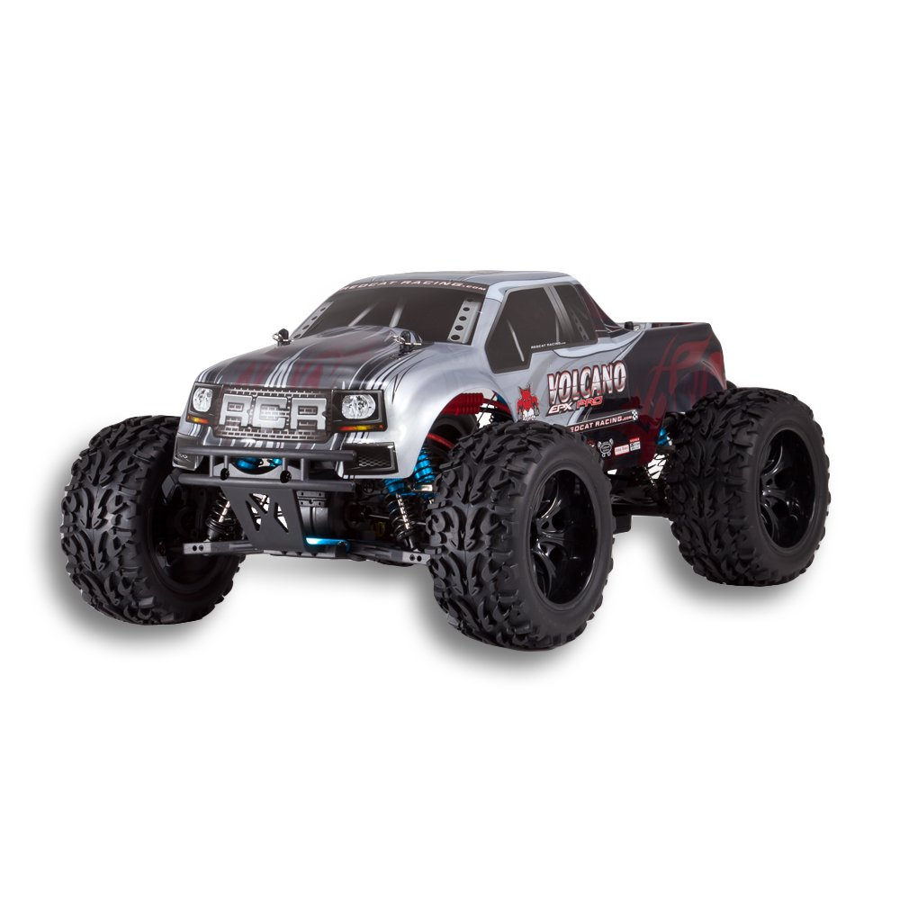 Volcano EPX Pro 1/10 Scale Brushless Truck Silver by Redcat Racing (Image #4)