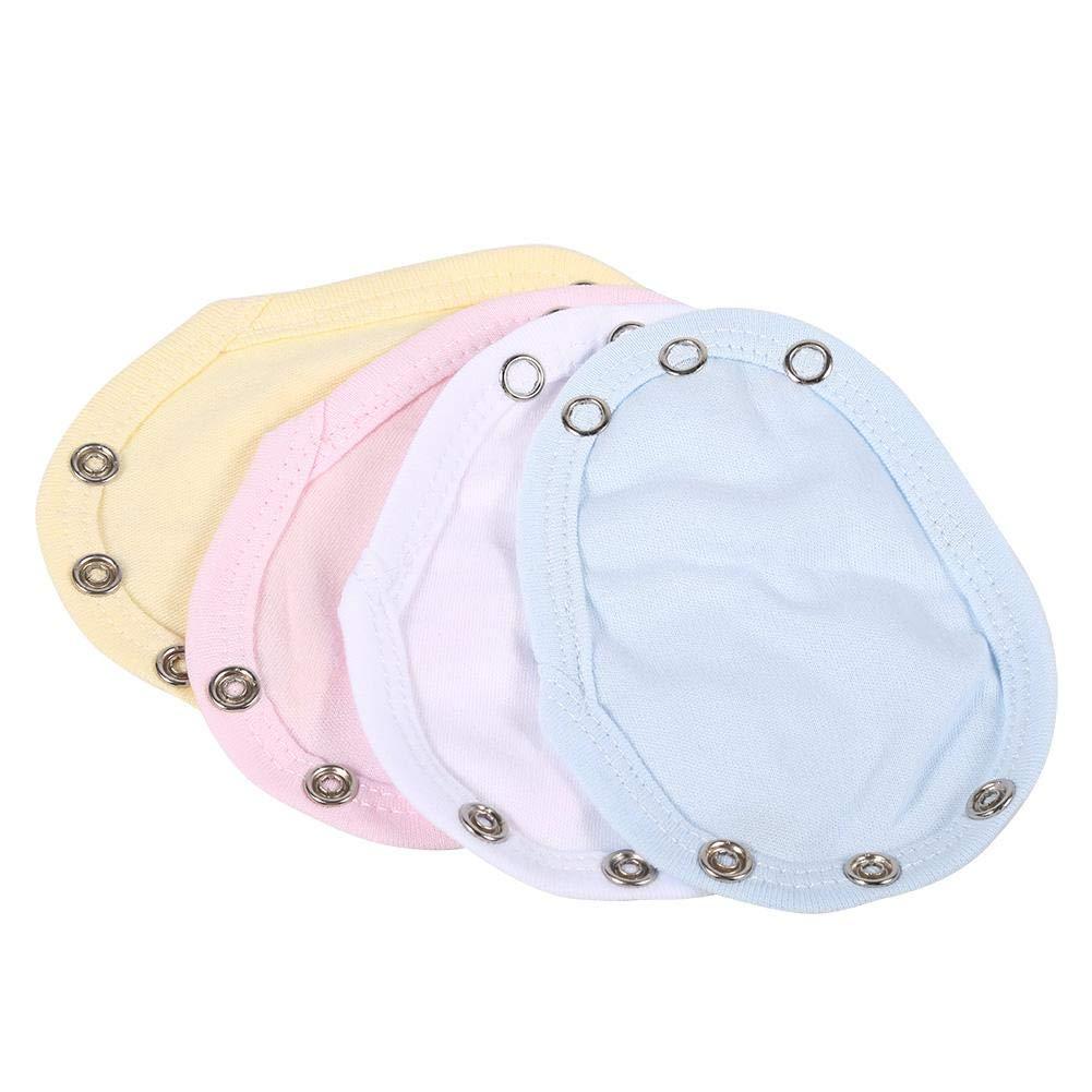 4 Colors One size Baby Kids Vest//Bodysuit Extender Film Adjustable Length Cotton
