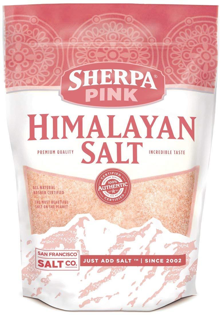 Sherpa Pink Himalayan Salt - 1 lb. Extra-Fine Bag