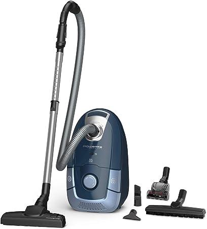 Rowenta Compact Power - Aspirador de Remolque con Bolsa, 3 AAA hogar y Kit para Animales Deep Dive Blue/Aqua: Amazon.es: Hogar