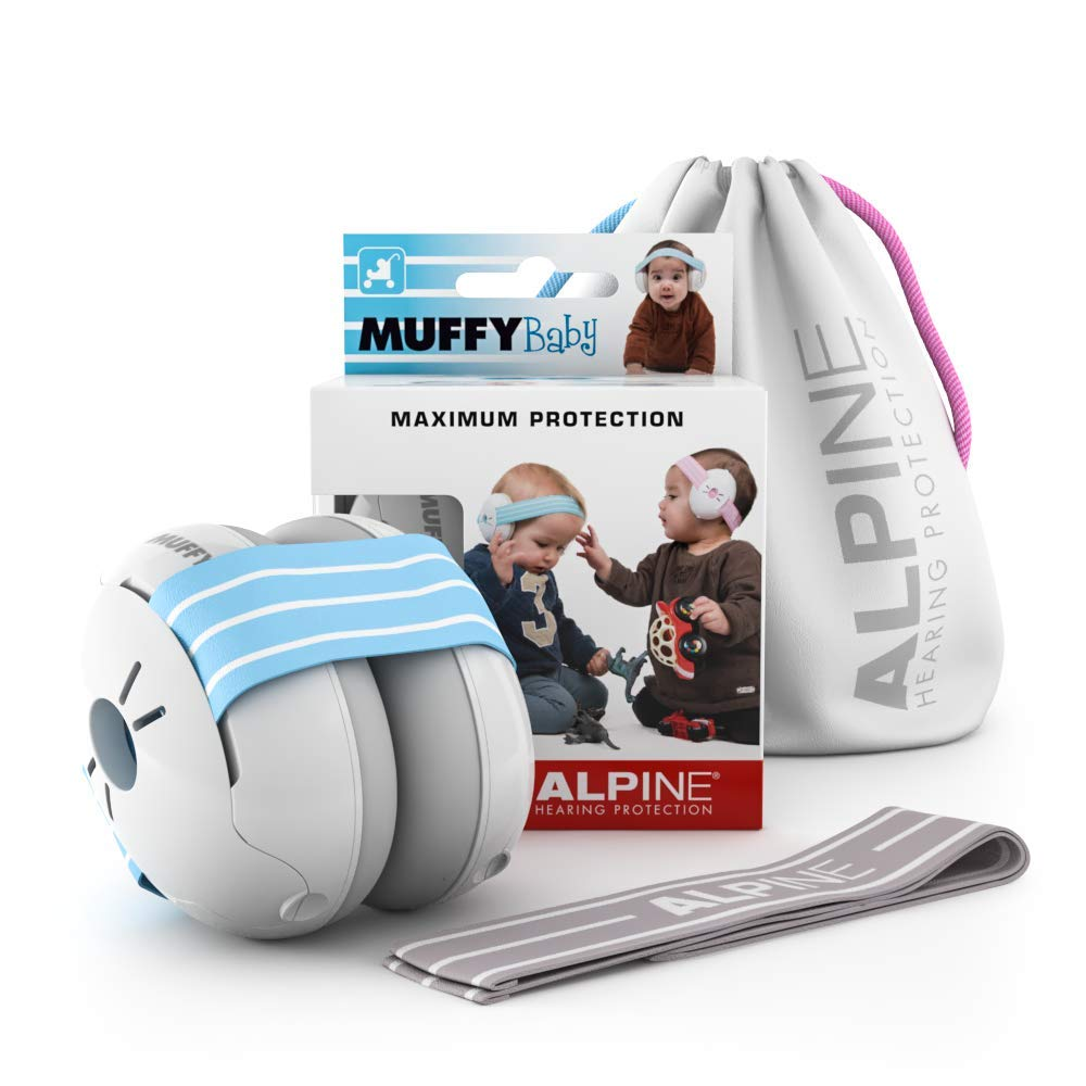Alpine Muffy Baby Ear Protection Pink Prevent Hearing Damage /& Improve Sleep Comfortable Infant Ear Protection Baby Ear Muffs Noise Protection for Babies and Toddlers up to 36 Months