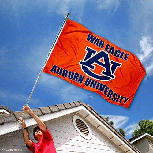 College Flags and Banners Co Auburn Tigers War Eagle Double Sided Flag