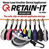 Retain-it - The Safe, Clip-on, Retainer, Mouth Guard and Dental Appliance Storage Solution! (Hawaiian)