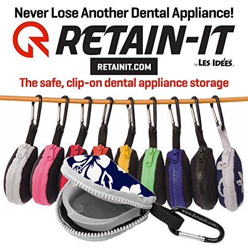 Retain-it - The Safe, Clip-on, Retainer, Mouth Guard and Dental Appliance Storage Solution! -