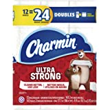 Charmin Ultra Strong Toilet Paper, 12 Double Rolls (Equal to 24 Regular Rolls)
