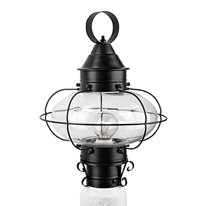 Norwell lighting 1321 bl cl cottage onion one light medium post norwell lighting 1321 bl cl cottage onion one light medium post glass aloadofball Gallery