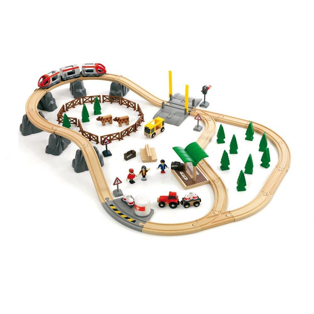 BRIO Bahn Großes Landschaftsset
