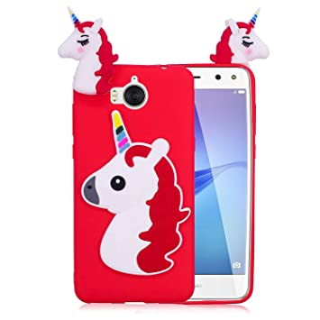 coque huawei y6 2017 3d licorne