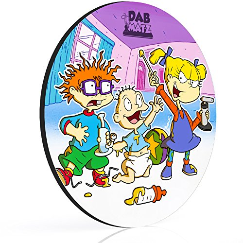 8'' Rugrats Dab Mat - The Nugrats - Mousepad Style Dabmat | Dabpad | Rigmat | Dabmatz by Dabmatz
