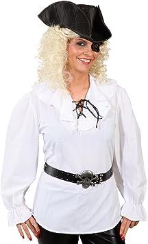 Camisa Blanca de Pirata para mujer | Tienda de Disfraces
