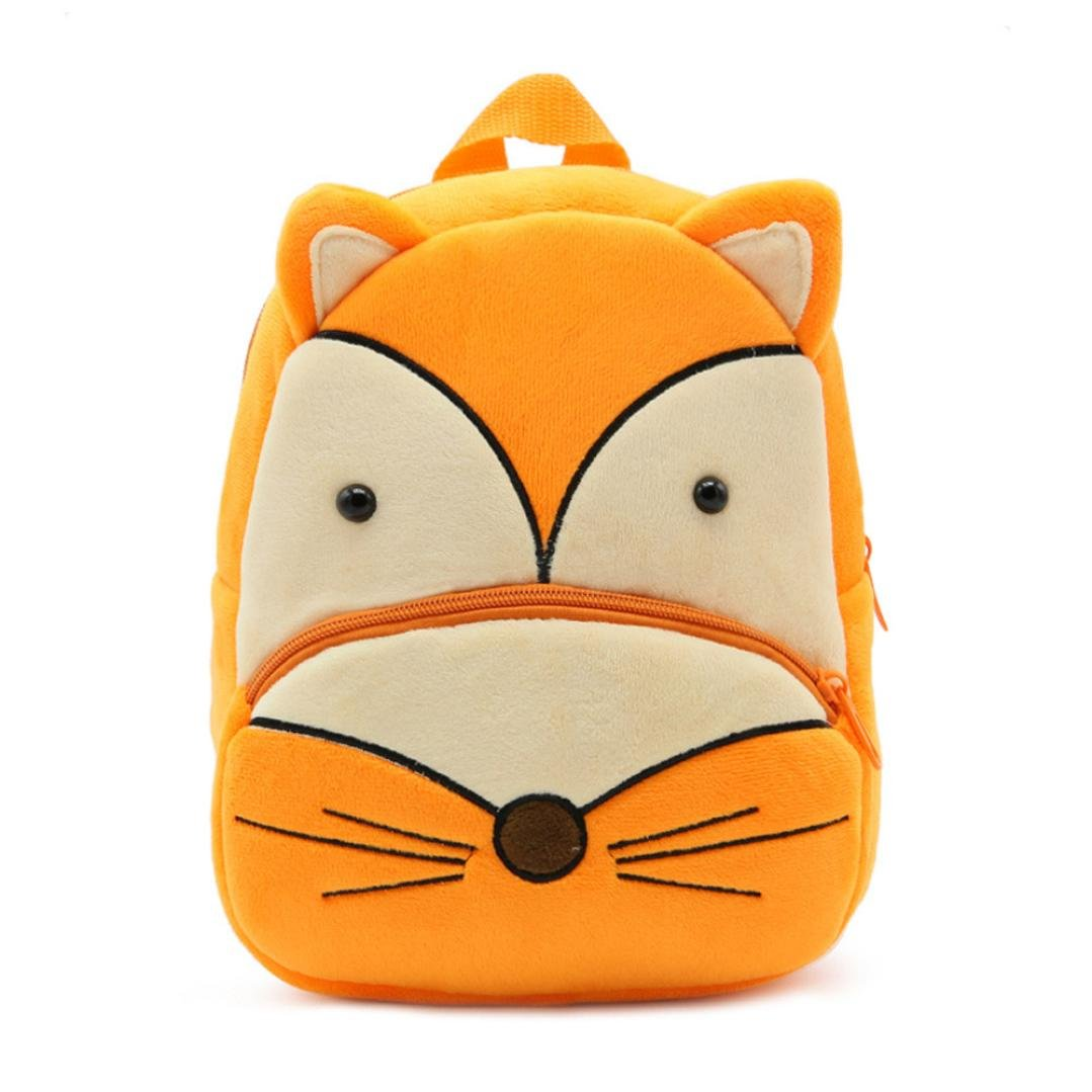 Promotion !New Toddler's Backpack,Toddler's Mini School Bags Cartoon Cute Animal Plush Backpack for Kids Age 1-4 Years (F)