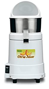 Waring Commercial JC4000 Heavy-Duty Hi-Power Citrus Juicer with Splashguard