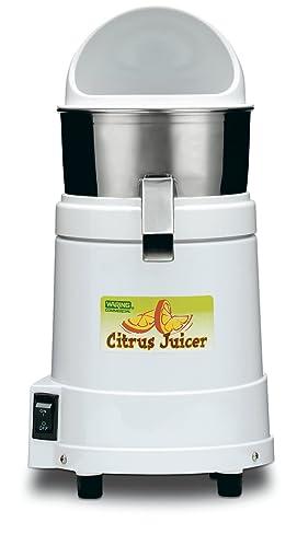 Waring Commercial JC4000 Heavy-Duty Hi-Power Citrus Juicer with Splashguard