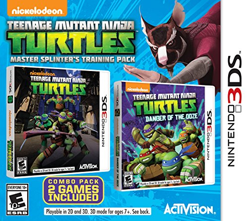 Teenage Mutant Ninja Turtles Master Splinter's Training Pack - Nintendo 3DS (Ninja Nintendo Ds)