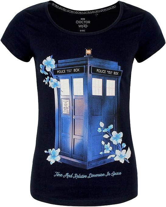 NASTROVJE Doctor Who Ladies Panty Set di 3 Tardis Daleks Elbe Forest Rosso Grigio Blu