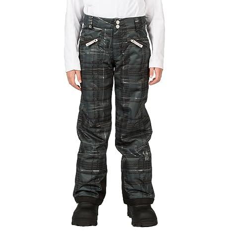 5dbf0e28d Amazon.com : Spyder Vixen Tailored Girls Ski Pants - 20/Black Check ...