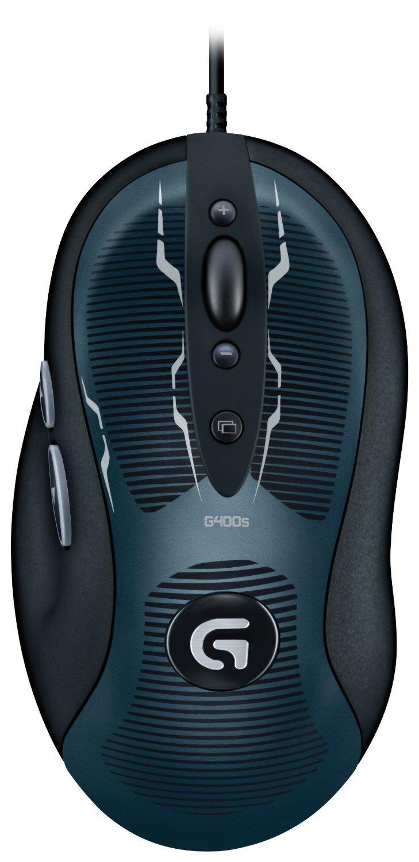 Mouse Gamer : Logitech G400s 910-003589 Optico