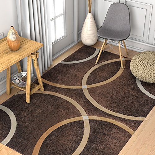 Modern Geometric Circles Resistant Contemporary product image