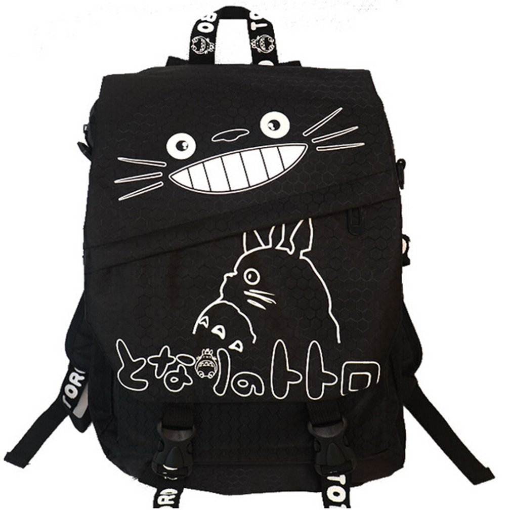 Mein Nachbar Totoro Anime Karikatur Segeltuch Rucksackbeutel Schultasche BG401
