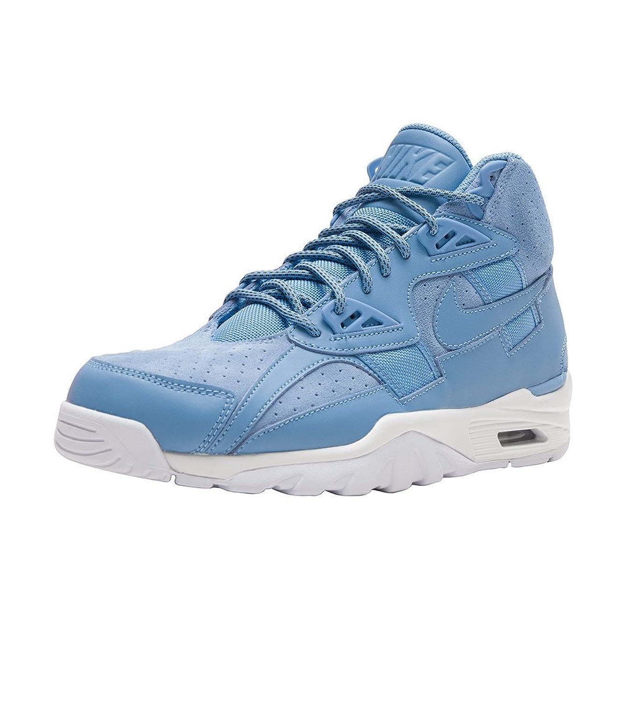 【NIKE/ナイキ】Air Trainer SC High Sneaker エアトレーナー メンズスニーカー Medium Blue [並行輸入品] B0733N7WLD