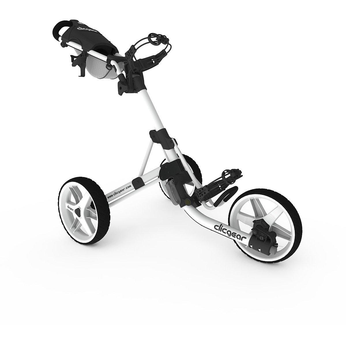 Clicgear Model 3.5+ Golf Push Cart - Arctic/White