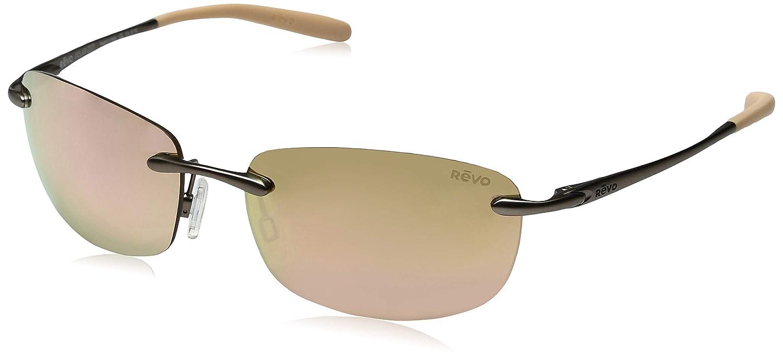 e65dafe783 Amazon.com  Revo Unisex RE 1032 Outlander S Rectangular Polarized  Protection Sunglasses