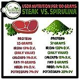 Organic Spirulina Powder - Non-GMO, USDA