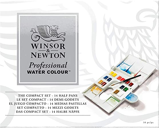 Winsor & Newton - Acuarela Extra Fina - Caja de plástico compacta ...