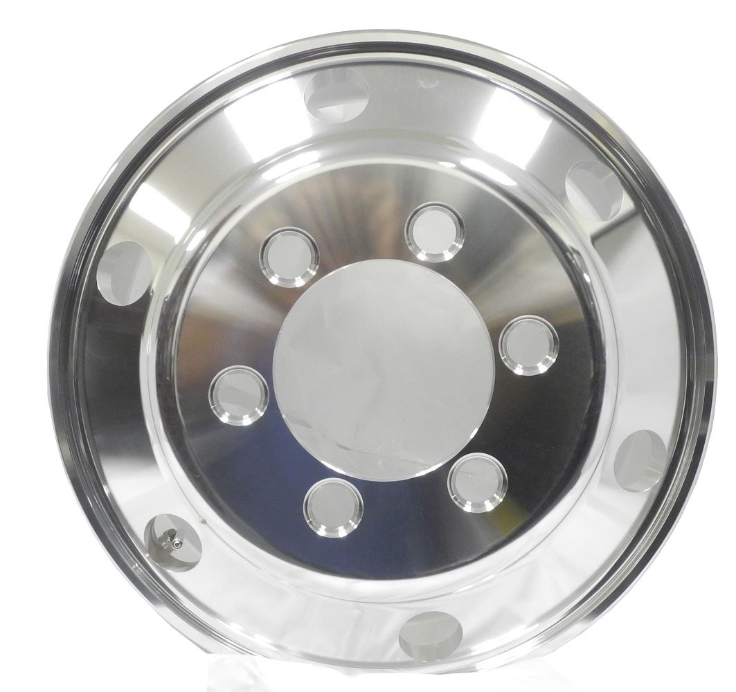 Zxly A196005 Wheel with Polished Finish (19.5x6''/6x8.75mm, +135mm offset)