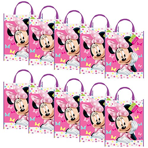Minnie Mouse Party Supplies Tote Bag (Set of -