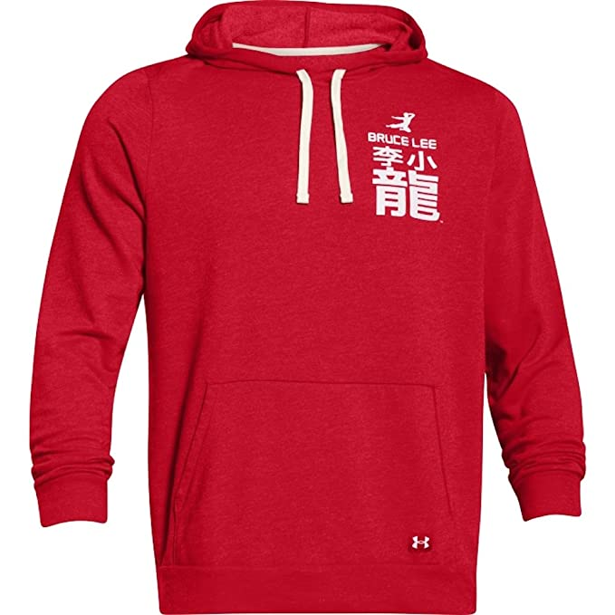Under Armour Roots Of Fight Bruce Lee Fleece-Kapuzenjacke - Red 600:  Amazon.de: Bekleidung