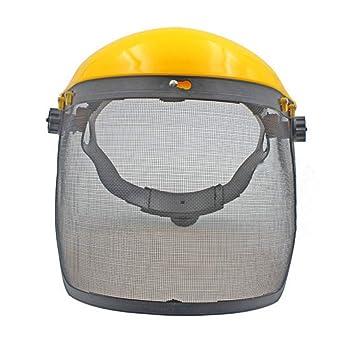 Máscara de malla diseño de seguridad protector de cara Segadora desbrozadora Protección motosierra protector ocular