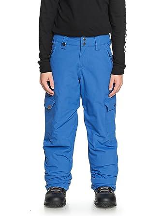 1c994613a03f8 Quiksilver Porter - Pantalon de Snow pour Garçon 8-16 Ans EQBTP03022:  Quiksilver: Amazon.fr: Vêtements et accessoires