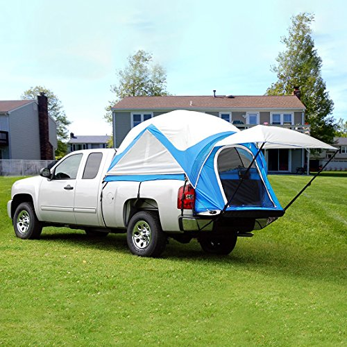 Peaktop Waterproof Truck Tent For Length 6.2-6.7 Feet Truck Breathable With Carry Bag