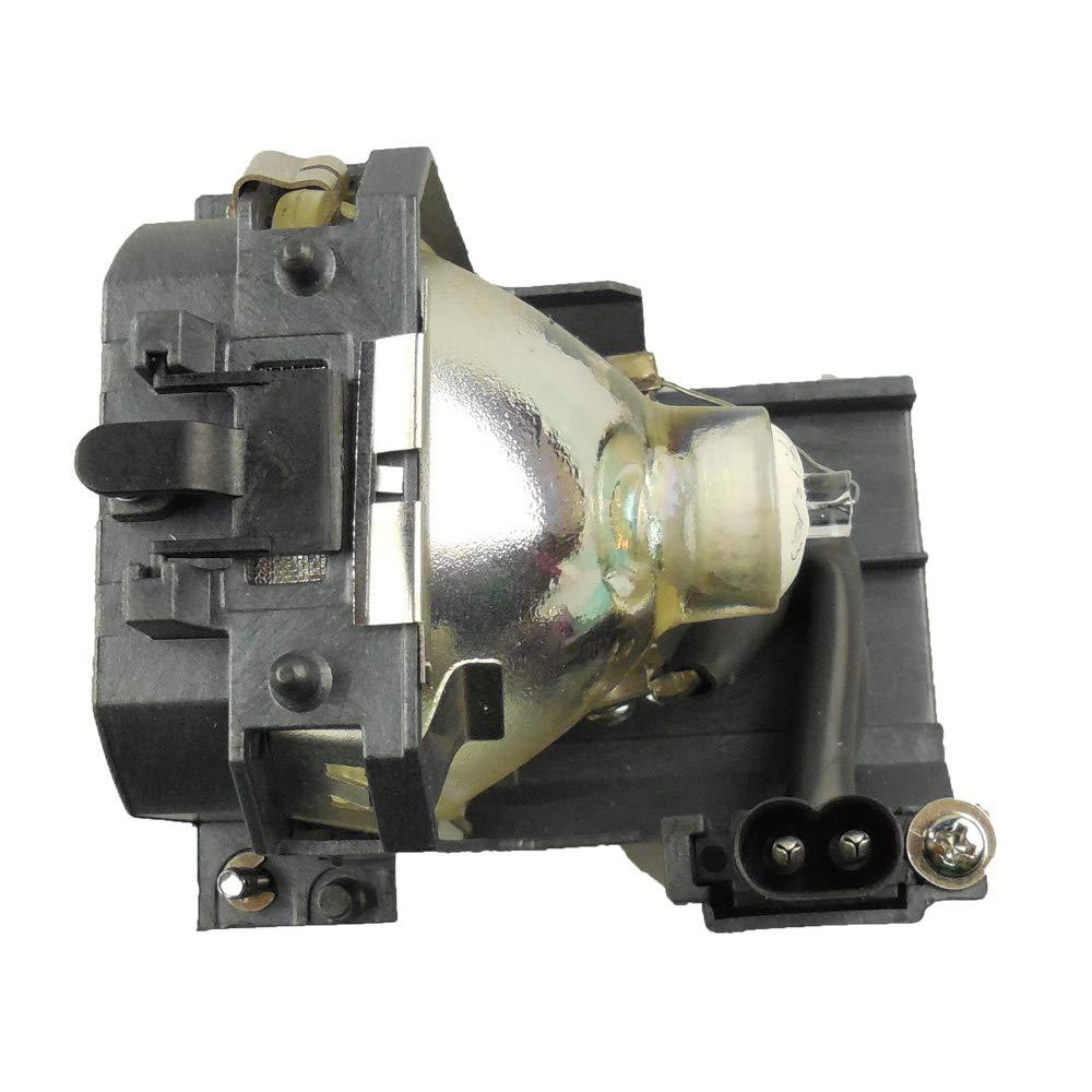 Supermait EP27 L/ámpara de repuesto para proyector con carcasa EMP-74C EMP-74 adecuada para EMP-54 V11H137020 EMP-54C EMP-74L compatible con Elplp27 V11H136020 PowerLite 54c 74c