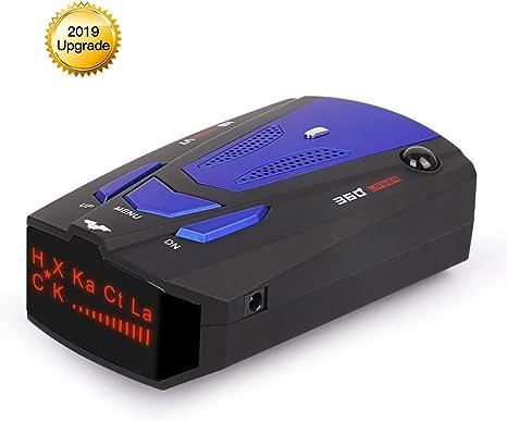 Amazon.com: WLZLINE detector de radar V7, velocidad de señal ...
