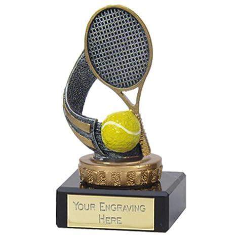 "3.7/8 ""Flexx tenis trofeo premio con grabado hasta ..."
